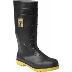SAFETY GUMBOOT SIZE 9