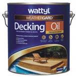 WATTYL DECKING OIL NATURAL