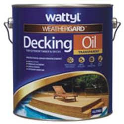 WATTYL DECKING  OIL NATURAL  4L