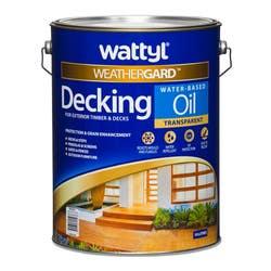 WATTYL DECKING OIL W/ BASE NATURAL 10L