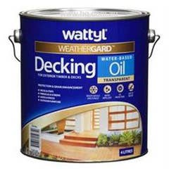 WATTYL DECKING OIL WATER BASED NATURAL