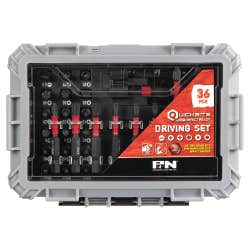 P&N 36PC QUICKBITS DRIVING SET