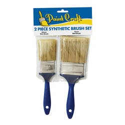 BRUSH SYNTHETIC 50MM & 75MM PKT 2