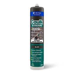 CAULK IN COLOURS BLACK 450G