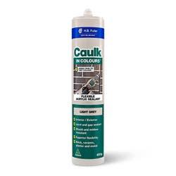 CAULK IN COLOURS LIGHT GREY 450G