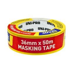 UNIPRO TRADE MASKING TAPE 36MM X 50M