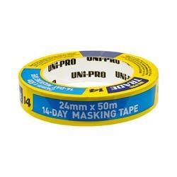 UNIPRO BLUE MASKING TAPE 24MM X 50MTR