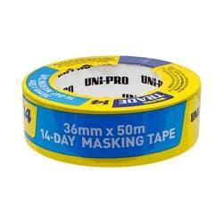 UNIPRO BLUE MASKING TAPE 36MM X 50MTR