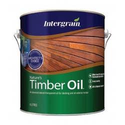 INTERGRAIN NATURES TIMBER OIL NATURAL 4L