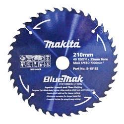 MAKITA BLUEMAK SAW BLADE 210X25X40T