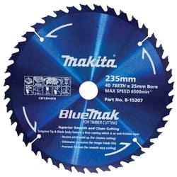 MAKITA BLUEMAK SAW BLADE 235X25X40T
