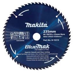 MAKITA BLUEMAK SAW BLADE 235X25X60T
