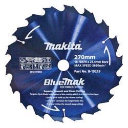 MAKITA BLUEMAK SAW BLADE 270X25.4X18T