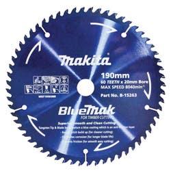 MAKITA BLUEMAK SAW BLADE 190X20X60T
