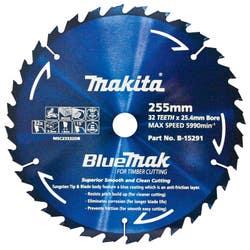 MAKITA BLUEMAK SAW BLADE 255X25.4X32T