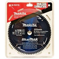 MAKITA BLUEMAK SAW BLADE 255X25.4X80T