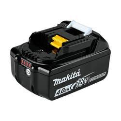 MAKITA 18V 4.0AH LI-ION BATTERY W/LED
