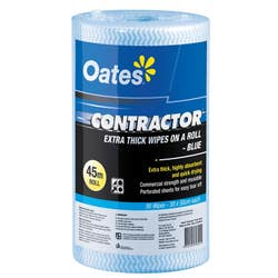 CONTRACTOR EXT THICK WIPES ROLL OF 90