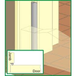 DOOR/WINDOW SEAL RUBBER CM48 5M BROWN