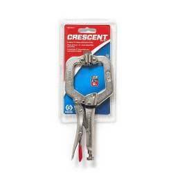 CRESCENT LOCKING C-CLAMP SWIVL PAD 150MM