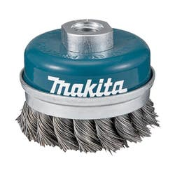 MAKITA 2 KNOT CUP WIRE BRUSH 60MM