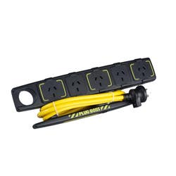 POWERBOARD 5 OUTLET 10AMP