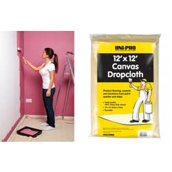 DROP SHEET CLOTH HVY DUTY 3.6M X 3.6M