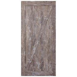 HUME DOORS FRONTIER BARN DOOR FBDRB2 RUSTIC BRN 2150X1000X35
