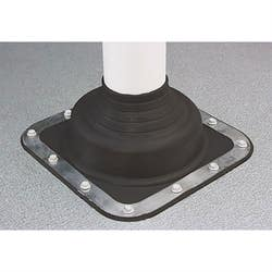 DEKTITE 5-55MM PIPE FLASHING NO.1 BLACK