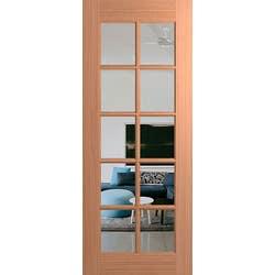 DOOR JST 10 LITE 2040X870X40 CLEAR