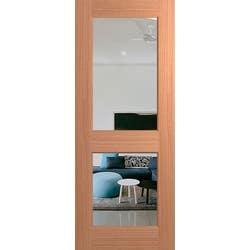DOOR JST 2 LITE 2040X820X40 CLEAR