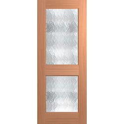 DOOR JST 2 LITE 2040X820X40 CATHEDRAL
