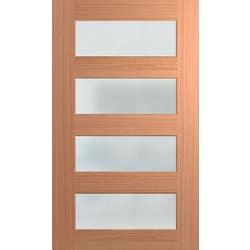 DOOR XS24 SPM 2040X1200X40 TRANS LAM