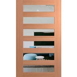 DOOR XS26 SPM 2040X1200X40 CLEAR