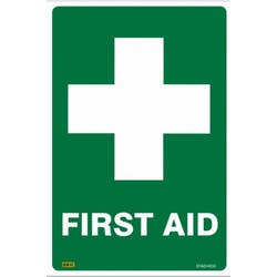 SAFETY SIGN FIRST AID 450X300