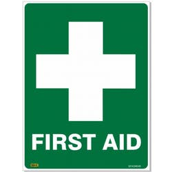 SAFETY SIGN FIRST AID 600X450