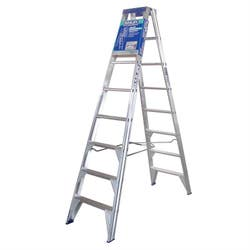 PRO 150KG DOUBLE SIDED 8 LADDER 2.4M