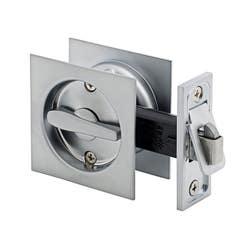 CAVITY DOOR LOCK SQUARE PRIVACY SC