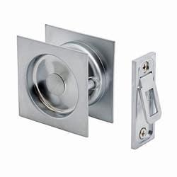 CAVITY DOOR LOCK SQUARE PASSAGE SC