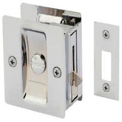 CAVITY DOOR LOCK RECT. PRIVACY BC VISUAL