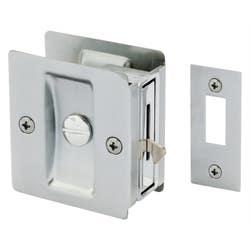 CAVITY DOOR LOCK RECT. PRIVACY SC VISUAL