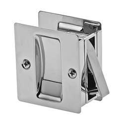 CAVITY DOOR LOCK RECT. PASSAGE BC VISUAL