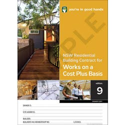 RESIDENTIAL BUILD CONTRACT COST+ BAS 2PK