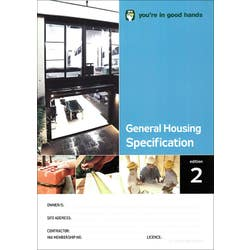 HIA GENERAL HOUSING SPECIFICATION EDIT 2