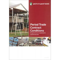 HIA PERIOD TRADE CONTRACT (PAD OF 20)
