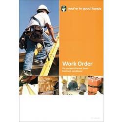 HIA WORK ORDER (PAD OF 20)