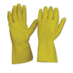 RUBBER GLOVE SIL/LINED LARGE