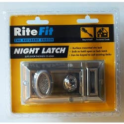 NIGHT LATCH SATIN CHROME