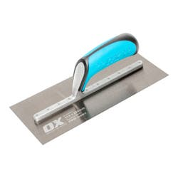 OX PRO GOLDEN STEEL FINISHING TROWEL 114MM X 280MM