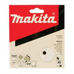 MAKITA 40G ORBITAL SAND DISC 125MM 10PK